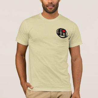 I LOVE TB American Apparel Bacic (7 Color) T-Shirt