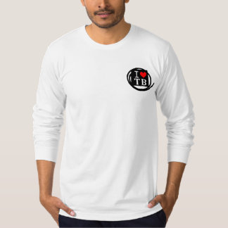 I LOVE TB American Apparel Long (2 Color) T-Shirt