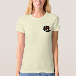 I LOVE TB Ladies Organic T-Shirt (Fitted) (1 Color
