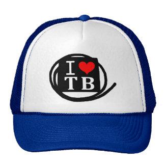 I LOVE TB Trucker Hats (11 Color)