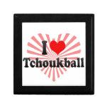 I love Tchoukball Keepsake Box