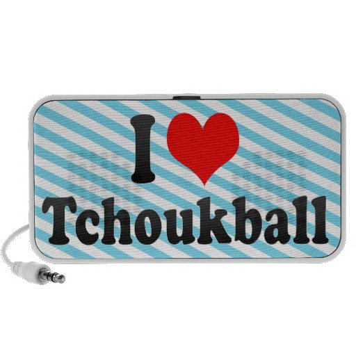 I love Tchoukball Laptop Speaker