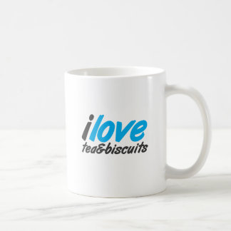 I love tea and biscuits design 12 in light blue mugs
