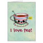 I love Tea Card