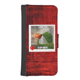 I Love Tea Clap Back iPhone,Galaxy Cellphone Case