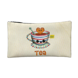 I love Tea Cosmetic Bag