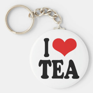 I Love Tea Keychain