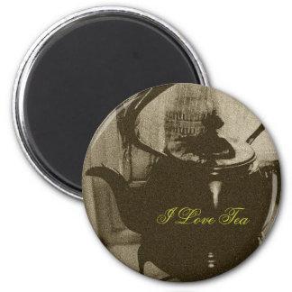 I Love Tea ~ Refrigerator Magnets