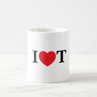 I love Tea Classic White Coffee Mug