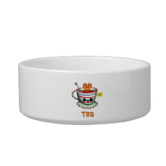 I love Tea Cat Water Bowl