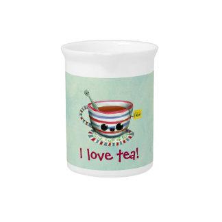 I love Tea Beverage Pitchers