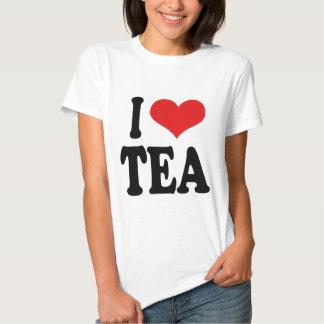 I Love Tea Shirt
