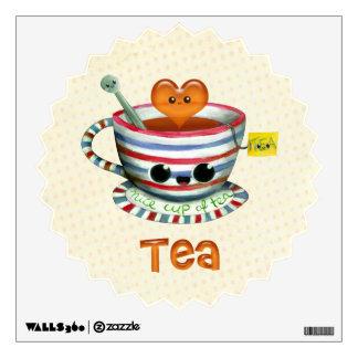 I love Tea Wall Decal