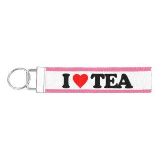 I LOVE TEA WRIST KEYCHAIN