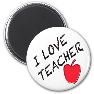 I Love Teacher Magnet
