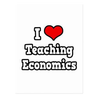 I Love Teaching Economics Postcard