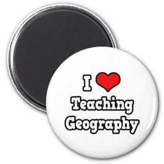 I Love Teaching Geography Fridge Magnets