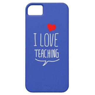I love teaching iPhone SE/5/5s case
