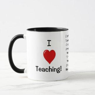 I Love Teaching! Joke Mug (UK)