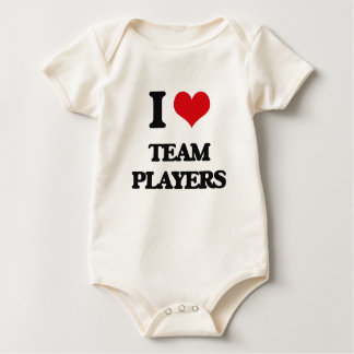 I love Team Players Romper
