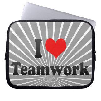 I love Teamwork Laptop Computer Sleeves