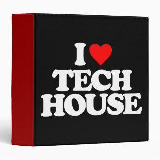 I LOVE TECH HOUSE BINDER