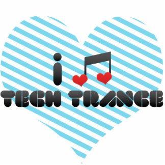 I Love Tech Trance Cut Out