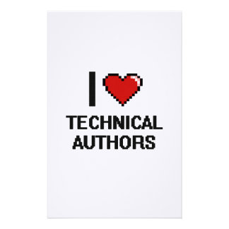 I love Technical Authors Stationery