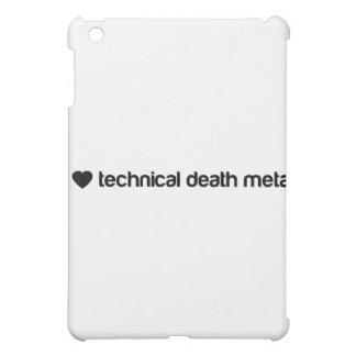 I love technical death metal iPad mini case