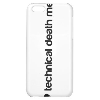 I love technical death metal iPhone 5C cover