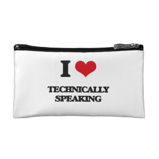 I love Technically Speaking Cosmetics Bags