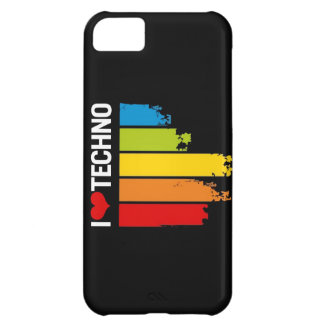 I Love techno- iPhone Speaker iPhone 5C Case