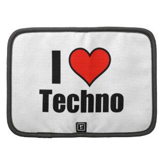I Love Techno Organizers