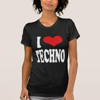 I Love Techno T-Shirt