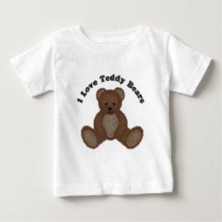 I Love Teddy Bears Fuzzy Buddy Infant Tee