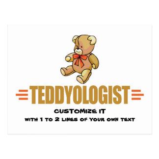 I Love Teddy Bears Postcard