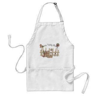 I Love Teddy Bears Spring Thyme Apron