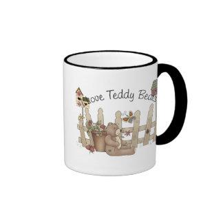 I Love Teddy Bears Spring Thyme Mug
