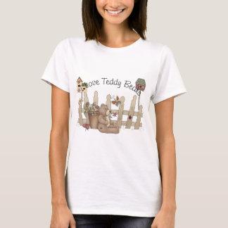 I Love Teddy Bears Spring Thyme T-Shirt