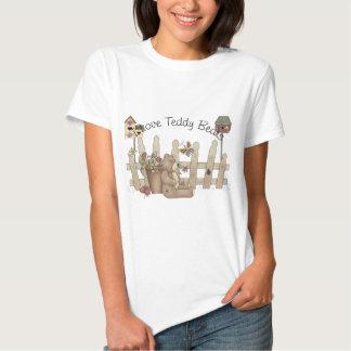 I Love Teddy Bears Spring Thyme Tshirts