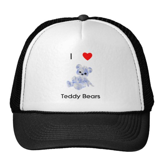 I Love Teddy Bears Trucker Hat