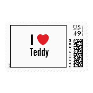 I love Teddy Stamp