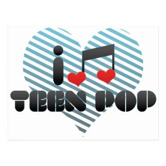 I Love Teen Pop Postcard
