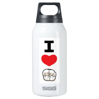 I Love Teeth 10 Oz Insulated SIGG Thermos Water Bottle