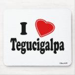 I Love Tegucigalpa Mouse Pads