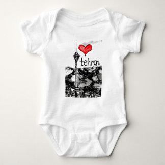I love Tehran Baby Bodysuit