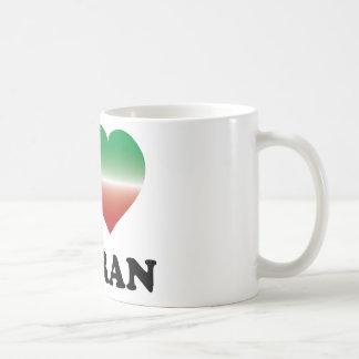 I Love Tehran Classic White Coffee Mug