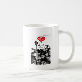 I love Tehran Coffee Mug