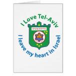 I Love Tel-Aviv Greeting Card