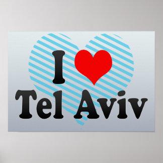 I Love Tel Aviv, Israel Poster